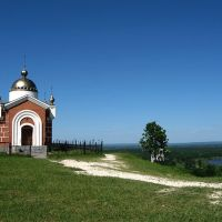 На Никольской горе в Сурском(Промзино), Шемурша