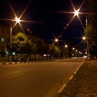 Улица Ленина(ночью), Шумерля