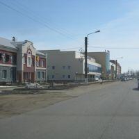Улица 30 лет Победы (Вид на восток)  /  Street of 30 years of the Victory (View on east), Ядрин