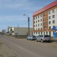 Улица 30 лет Победы (Вид на запад)  /  Street of 30 years of the Victory (View on west), Ядрин