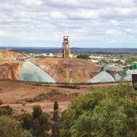 Kalgoorlie - Mount Charlotte Open Pit, Калгурли