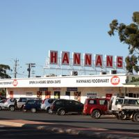 Piccadilly - Hannans IGA - Hannans Sign From Original Hannans Brewery, Калгурли