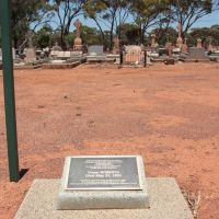 Kalgoorlie - Claim To Fame! - First Person To Die In Kalgoorlie, Калгурли