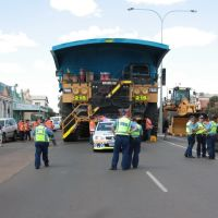 Kalgoorlie - KCGM 793C At Top Of Hannan Street - St. Barbaras Day Parade 2011, Калгурли