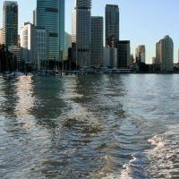 Brisbane river, Брисбен
