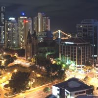 Brisbane At Night, Брисбен