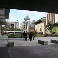 Brisbane CBD from Gallery of Modern Art, Southbank, Брисбен