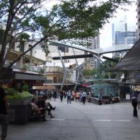 0575 Brisbane, Queen Street Mall, Брисбен