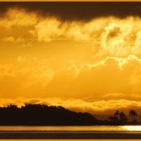 Sunrise over Quion Island, Гладстон