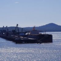 View of Coal Port from Auckland Point Lookout, Gladstone, Гладстон
