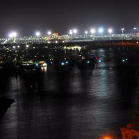 Marina night view, Гладстон