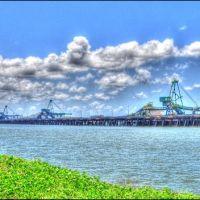 Clinton coal loading wharf, Гладстон