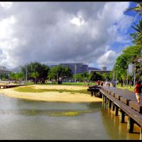 Esplanade in Cairns-© by leo1383, Каирнс