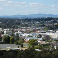 View from Pioneer Memorial Lookout - Maryborough, Мариборо