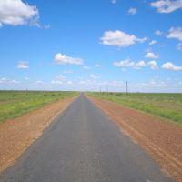 Road between Aramac & Barcaldine, Маунт-Иса