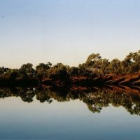 Thompson River, Longreach, Queensland, Маунт-Иса