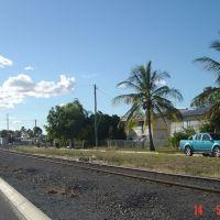 Railway line in Rockhampton, Рокхамптон
