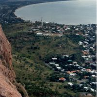 Townsville, View from Castle hill 1989, Таунсвилл