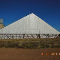 Gobondery - Wheat Silos - 2014-05-30, Албури