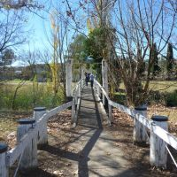 Old pedestrian Bridge over Dumaresq Creek, Armidale, Армидейл