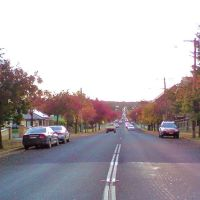 Armidale , late afternoon autumn streetscape .., Армидейл
