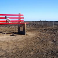 Garden Art - Big Red Chair: Broken Hill, Брокен-Хилл