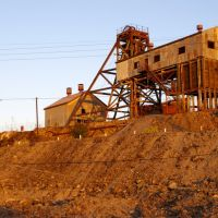 Junction Mine at sunset: Broken Hill, Брокен-Хилл