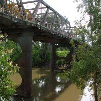 Hampden Bridge over Murrumbidgee River, Wagga Wagga NSW, Вагга-Вагга