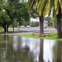 Wollundry Lagoon overflows:  Wagga Wagga Floods 2012, Вагга-Вагга