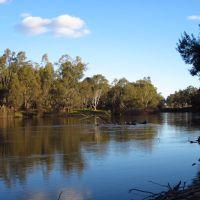 Murrumbidgee River near Wagga Wagga, NSW, Вагга-Вагга