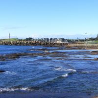 Rocky foreshore at North Wollongong, Воллонгонг