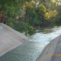 Warren - Gunningbar Creek Flow Regulator - 2014-01-20, Гоулбурн