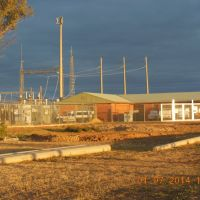 Nyngan - Electrical Substation - 2014-07-01, Гоулбурн