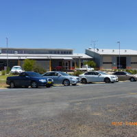 Nyngan - Hospital & Ambulance Station - 2014-01-07, Оранж
