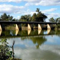 Peter Sinclair Bridge - Nyngan, NSW, Оранж