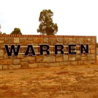 Welcome Sign - Warren, NSW, Оранж