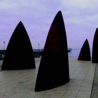 Fin Sculptures - Geelong, Гилонг
