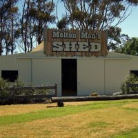 Melton Mens Shed (2010). Opened in 2009, the Shed is a place for men of any age to come together, to capture and share their skills and experiences, Мелтон