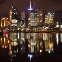 Melbourne at Night, Мельбурн