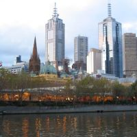 Melbourne skyline, Мельбурн