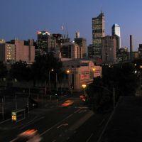 Blick auf Melbourn vom Hostel aus, Мельбурн