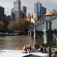Yarra River( To my friend Patricia), Мельбурн