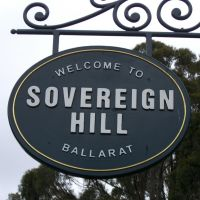 sovereign hill, Балларат