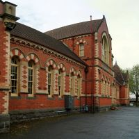 Former Urquhart St School (2010) - designed by Henry Bastow, Chief Architect, Education Department, and opened in 1878. It is now used by BRACE Education, Training and Employment, Балларат