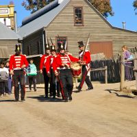 theyre changing the guard at Sovereign Hill: Ballarat, Балларат