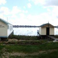 Boat Houses, Lake Wendouree, Ballarat, Victoria, Балларат