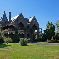 Bishops Palace (2013). Built in 1877 to house Ballarats first bishop, Dr Michael OConnor. The builder, Joseph Reed, also built the State Library of Victoria and Melbournes Trades Hall., Балларат