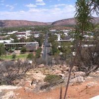 Alice Springs from Anzac Hill, Алис Спрингс