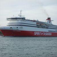 Spirit of Tasmania, Девонпорт