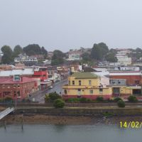 Devonport from Spirit of Tasmania, Девонпорт